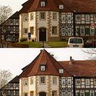 Retouchiert - Gebäude in Hildesheim