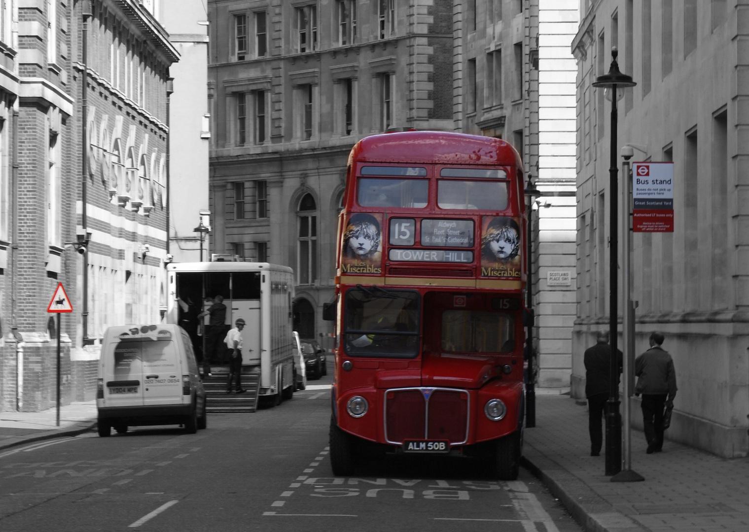 Retour a Londres