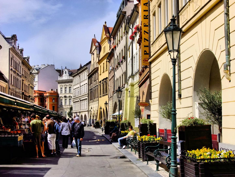 Retour à Prague...