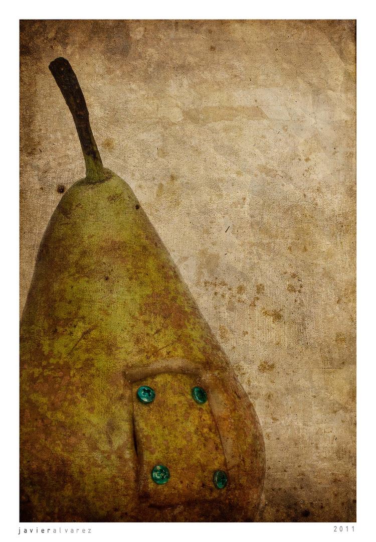 Retrato de una pera