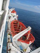Rettungsboot an der Leine (Korsika)