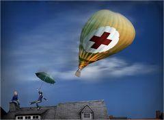 Rettungsflieger-Notfall