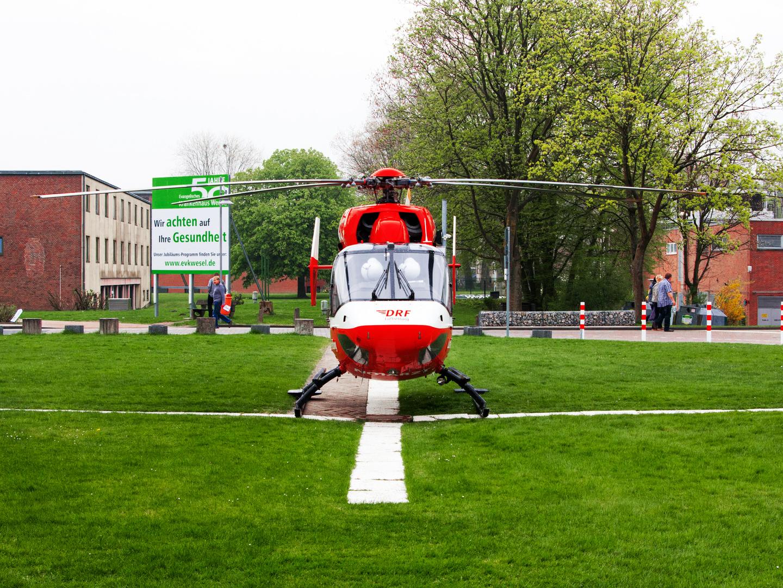 Rettungshubschrauber Christoph Dortmund