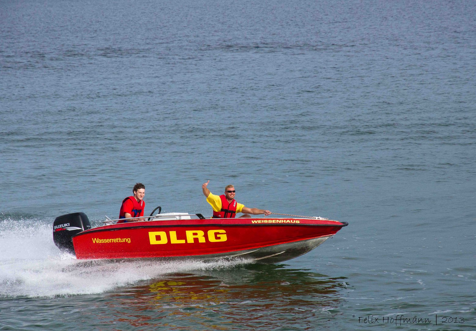 Rettungsschwimmer V