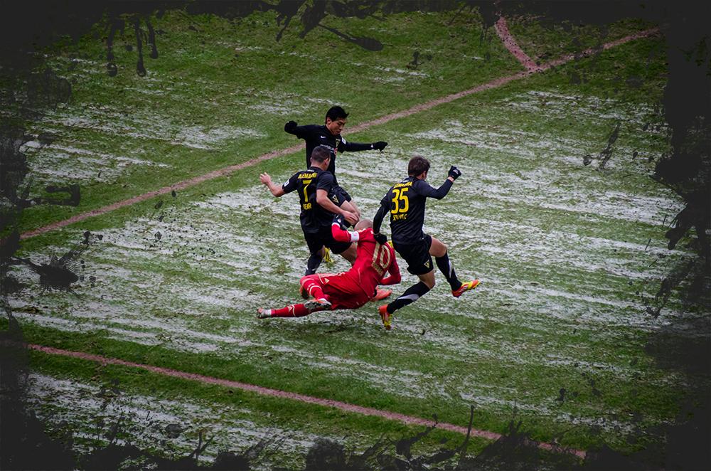 Rettungsspiel Aachen gg. Bayern