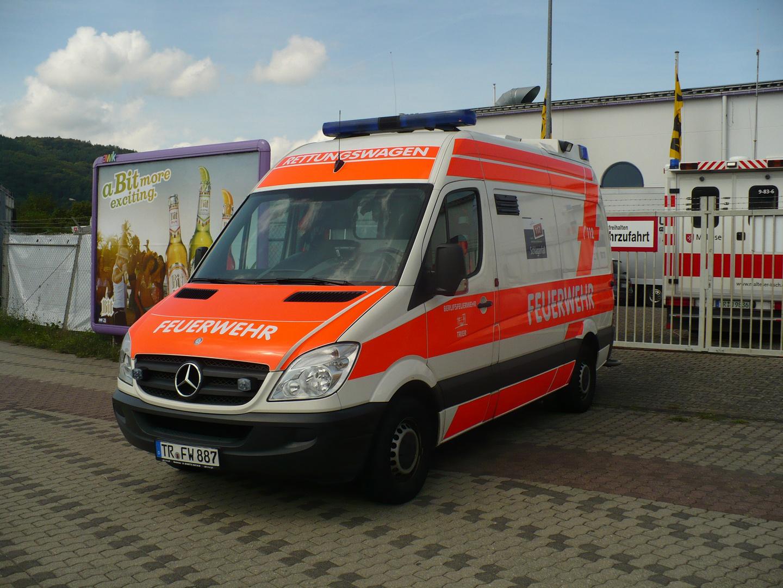 Rettungswagen Berufsfeuerwehr Trier