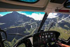 Réunion aus der Vogelperspektive