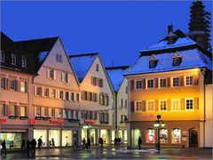 Reutlingen - Abends am Markt