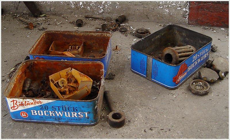 Revierverpflegung II (Im Revier3) - Rost-Bockwurst