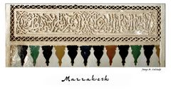 Revisiting  Marrakesh. Impressions of a Journey (XVIII)