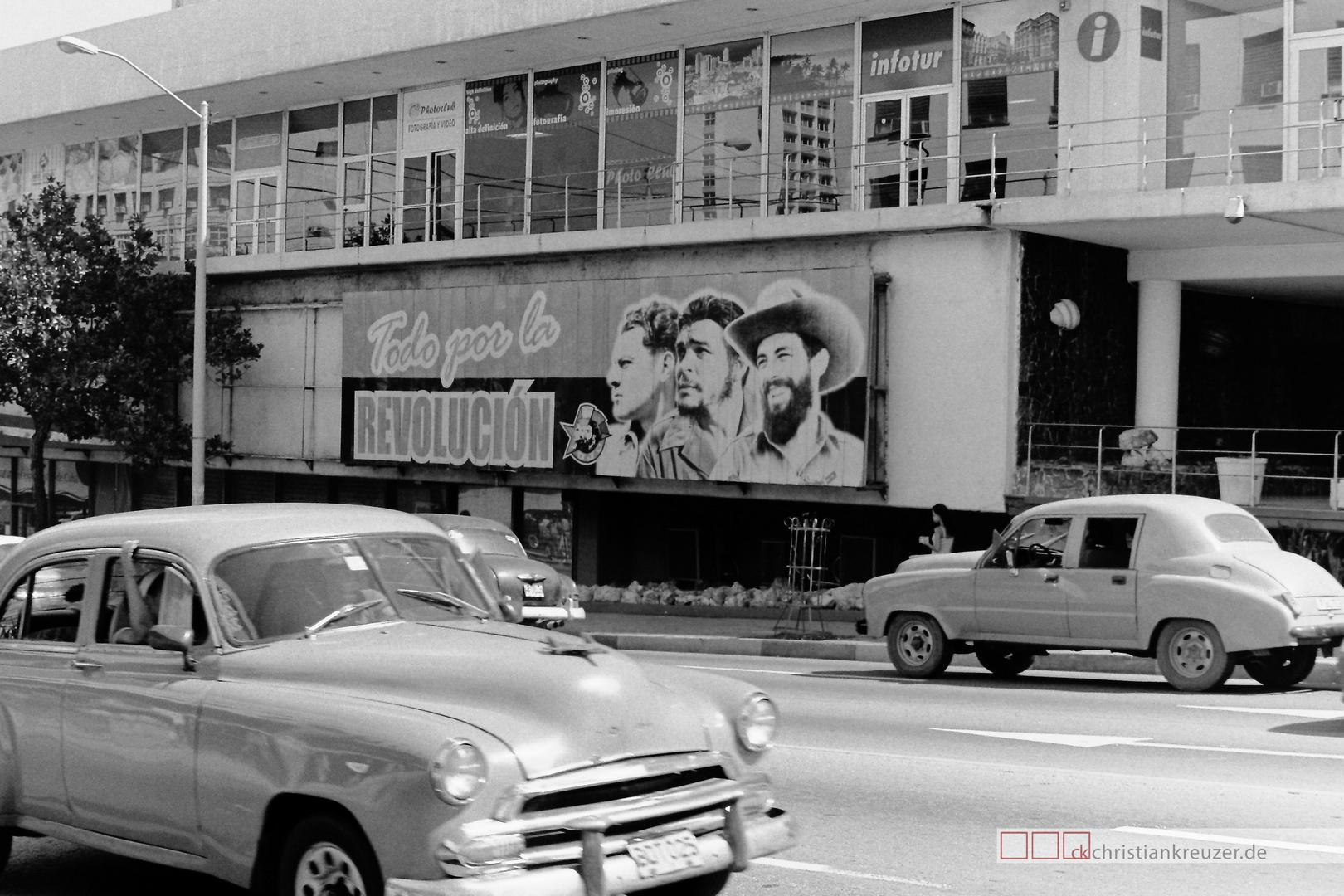 Revolucion Havanna Cuba
