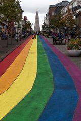 Reykjavik - Rainbow Street