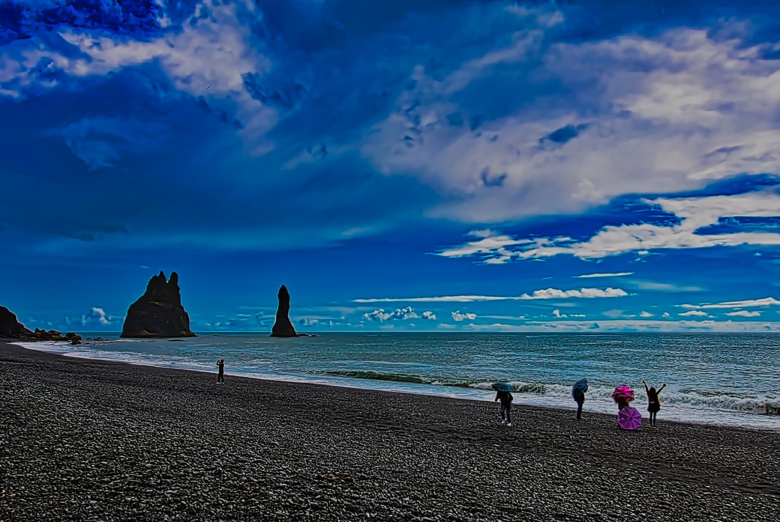 Reynisfjara Black Beach, Iceland 2016