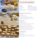 Rezept feines Buttergebäck