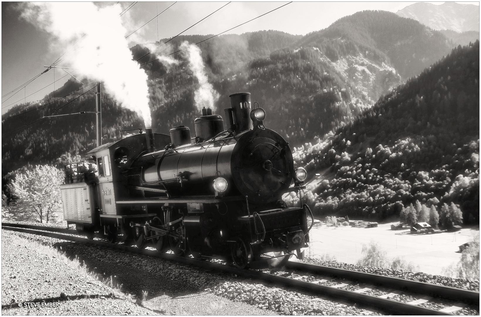 RhB No.107 'Albula'