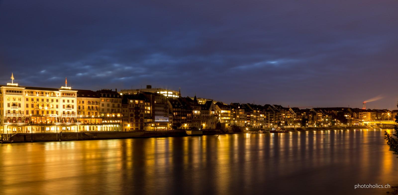 Rhein am Basel. Oder umgekehrt.....