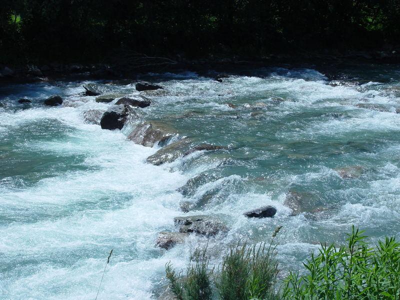 Rhein bei Disentis