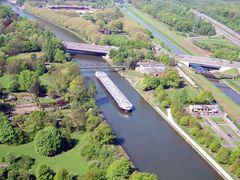 Rhein-Herne Kanal aus 110m Höhe