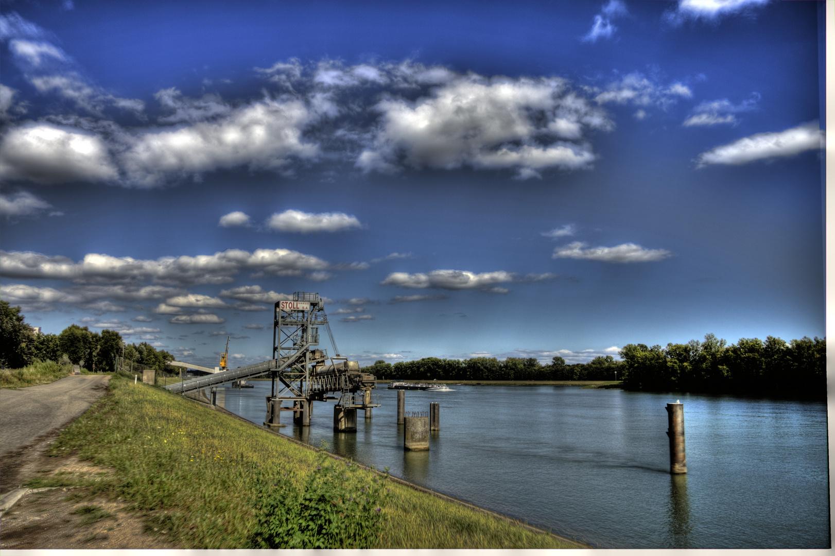 Rhein im Elsass
