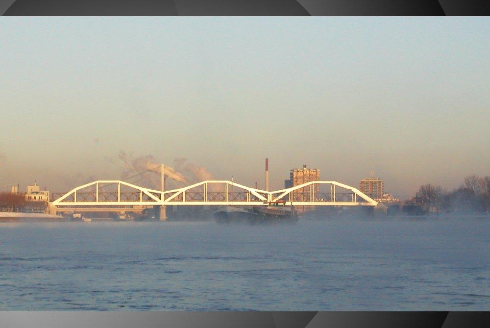 Rhein im Morgengrauen