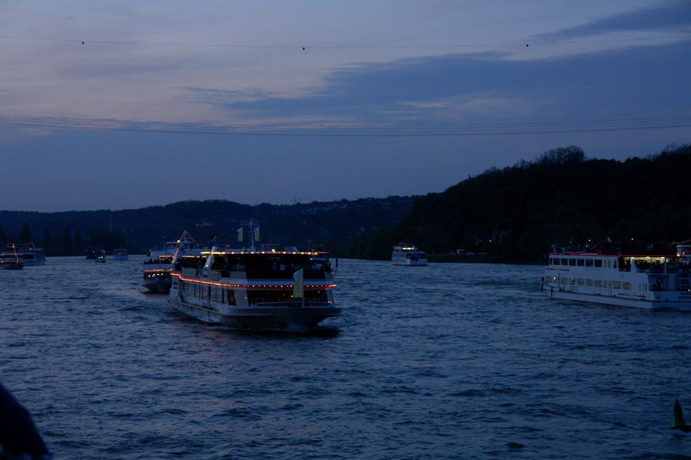 Rhein in Flammen 2008