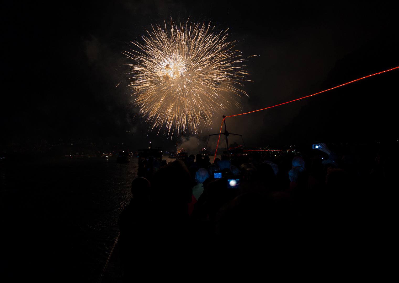 Rhein in Flammen Feuerwerk 2013