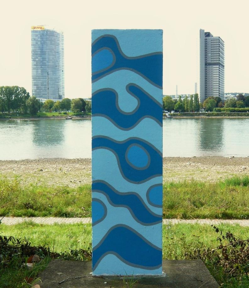 Rhein - Kilometrierung