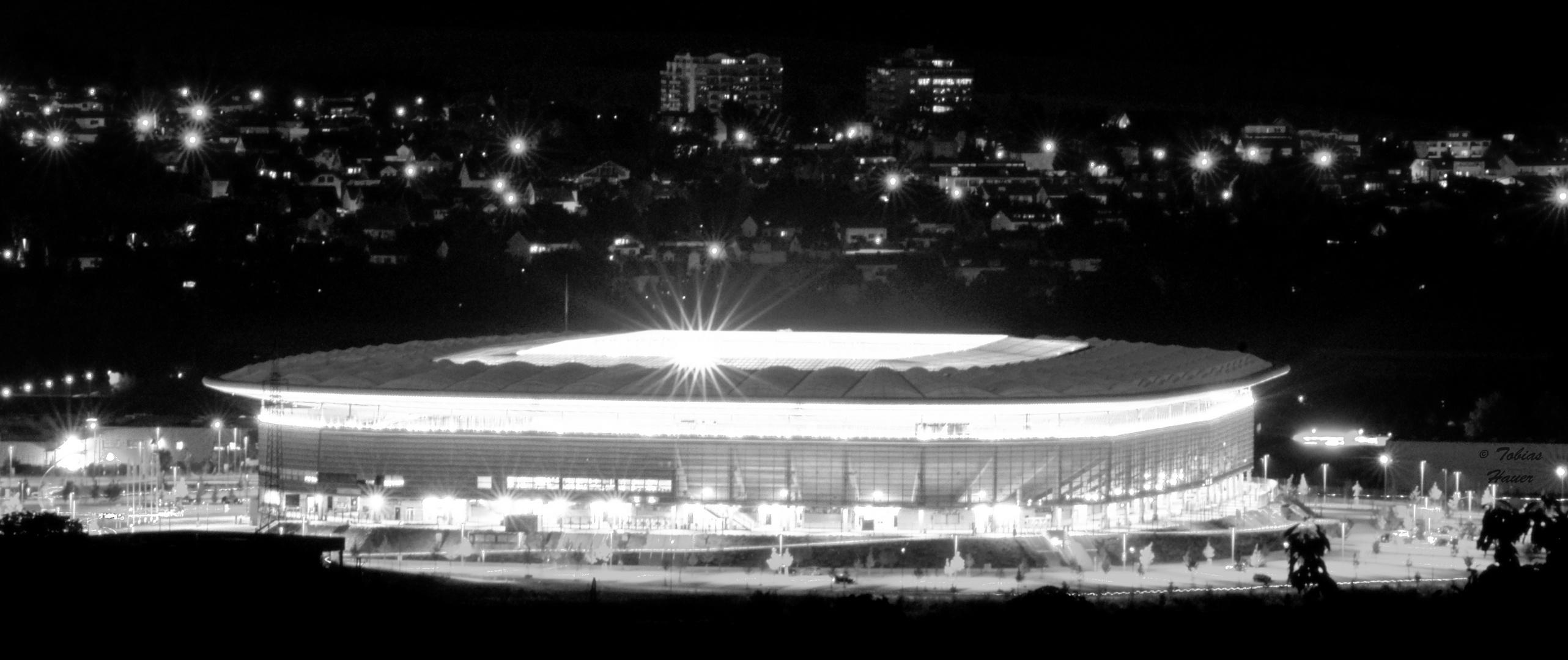 Rhein-Neckar-Stadion nach dem Frauen-WM Spiel