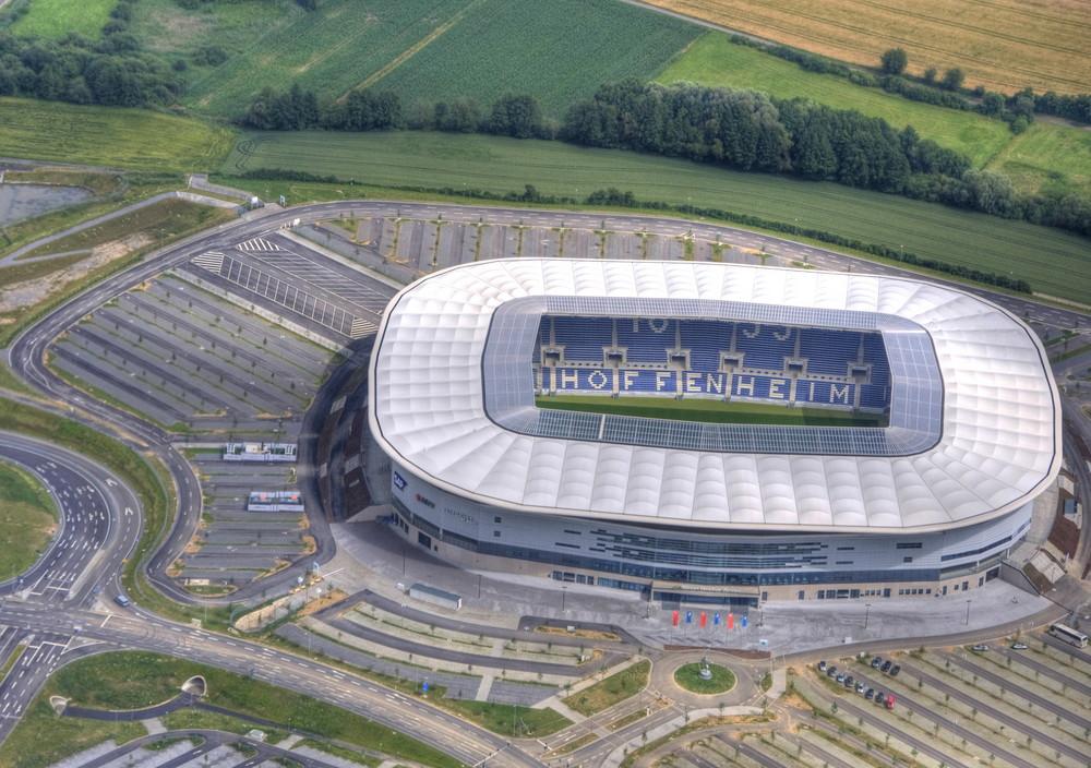 Rhein-Neckarstadion-Hoffenheim von oben