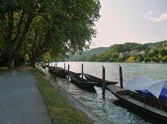 Rhein vor dem Fall ...