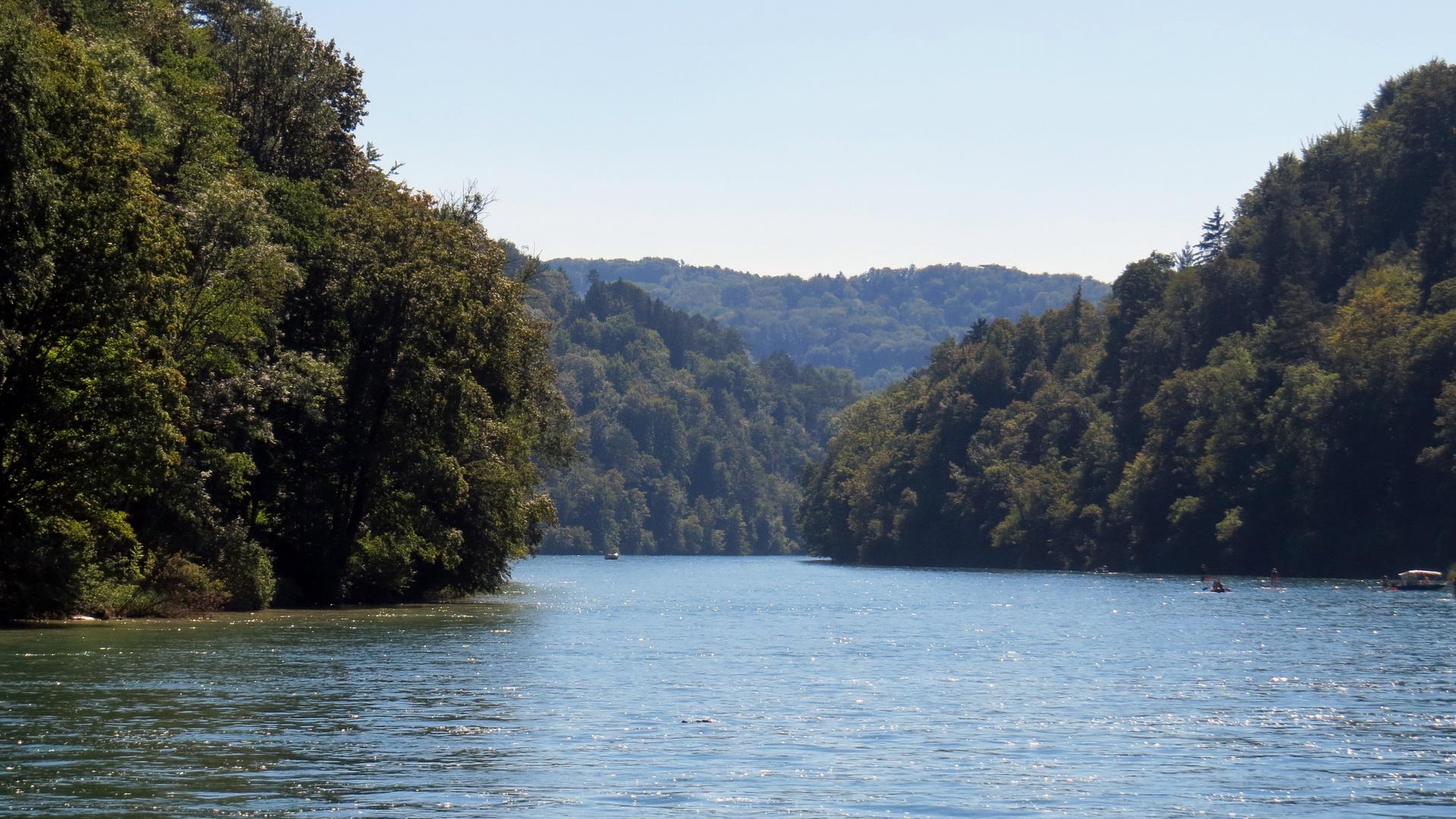 Rhein vor Tösseck