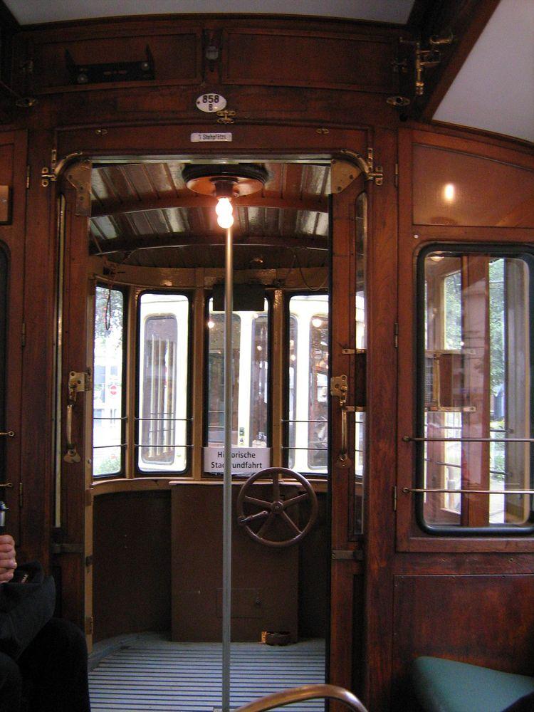 Rheinbahn Nr: 858 Fahrgastraum