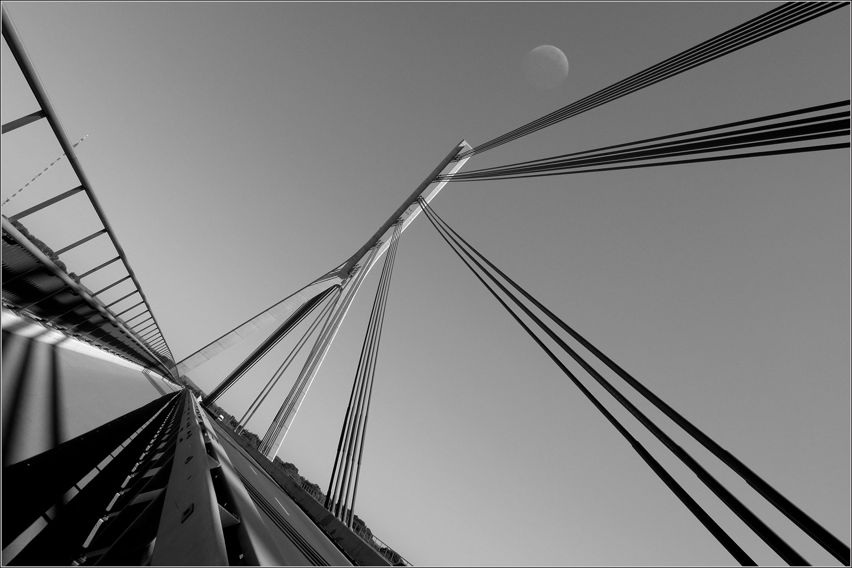 Rheinbrücke bei Rees