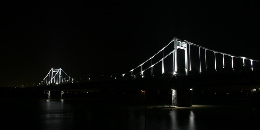 Rheinbrücke - Krefeld Uerdingen