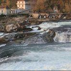 Rheinfall 3 Bilder-Panorama