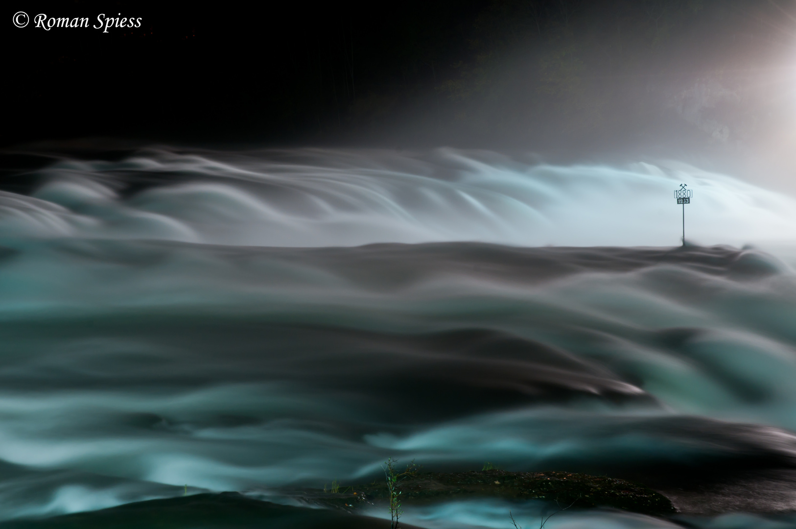 Rheinfall bei Nacht II