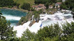 Rheinfall ganz harmlos