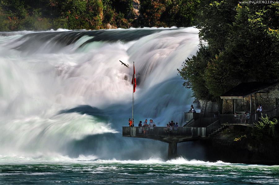 Rheinfall hautnah