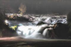 Rheinfall im Morgengrauen
