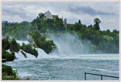 Rheinfall in Schaffhausen - diesmal etwas näher