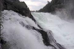 Rheinfall nahe dran