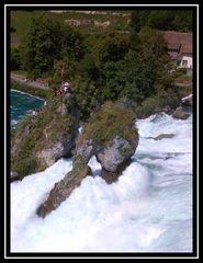 Rheinfall von Schaffhausen.