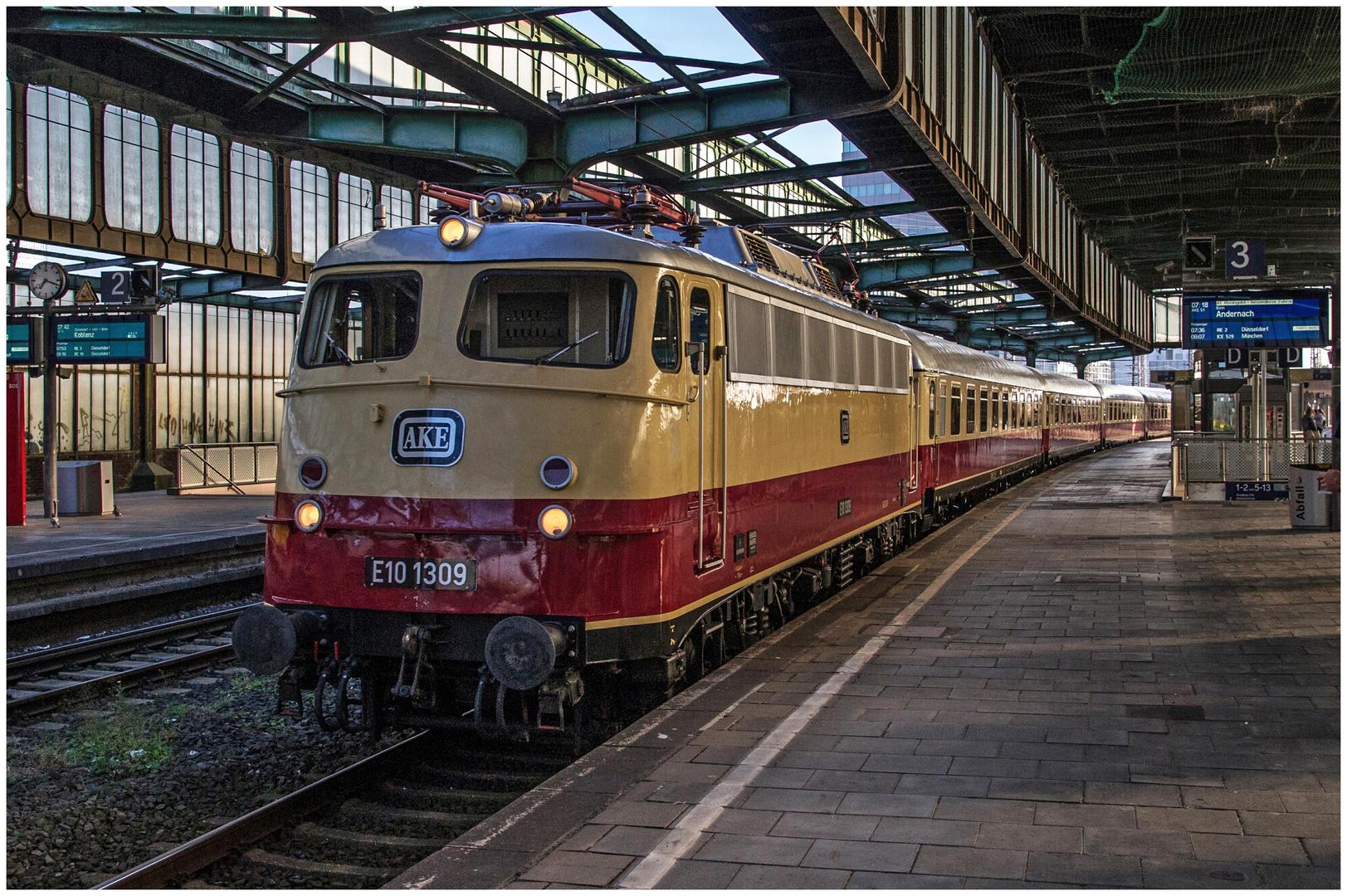 Rheingold im Duisburger Hbf