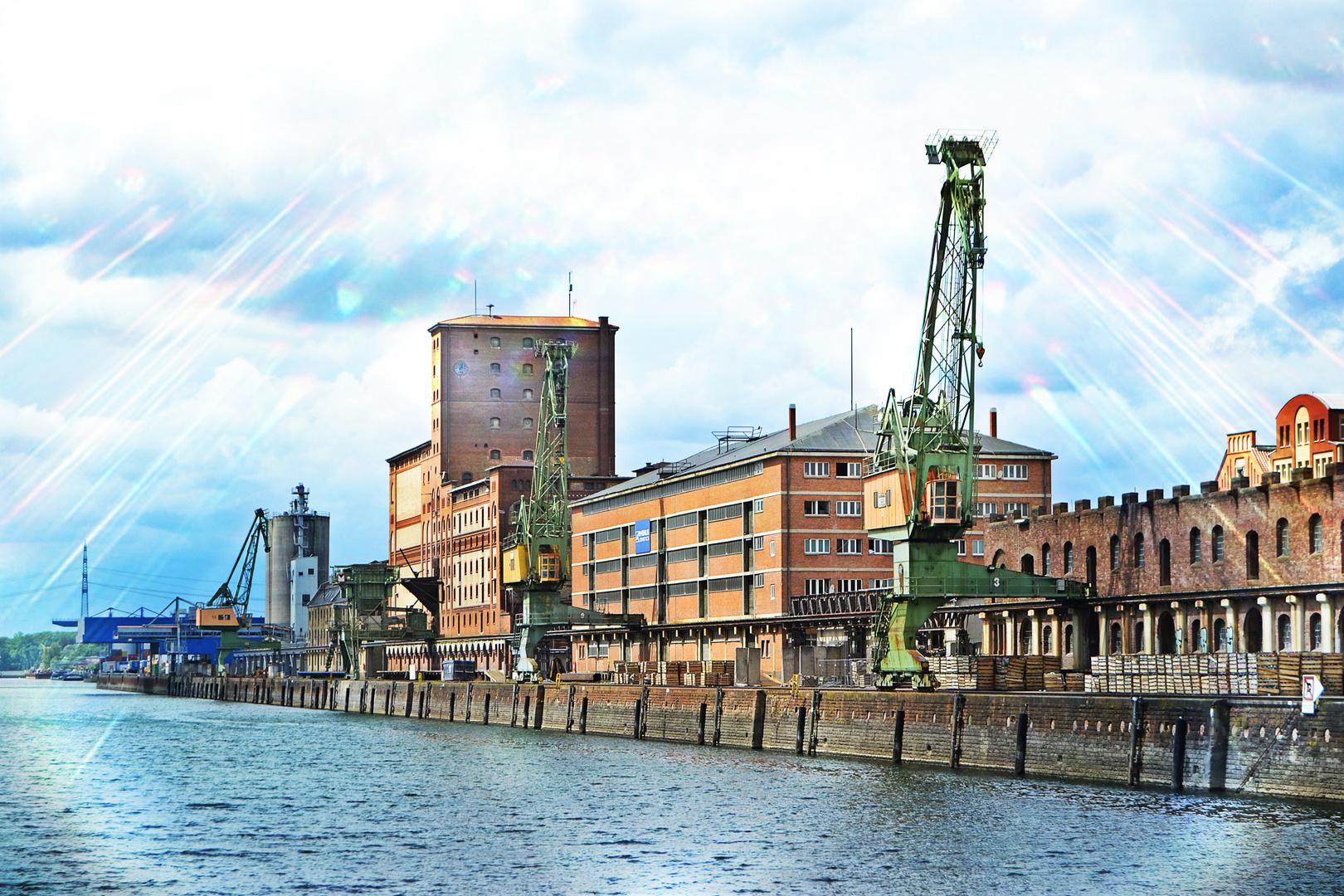 Rheinhafen Karlsruhe Foto & Bild | architektur, motive