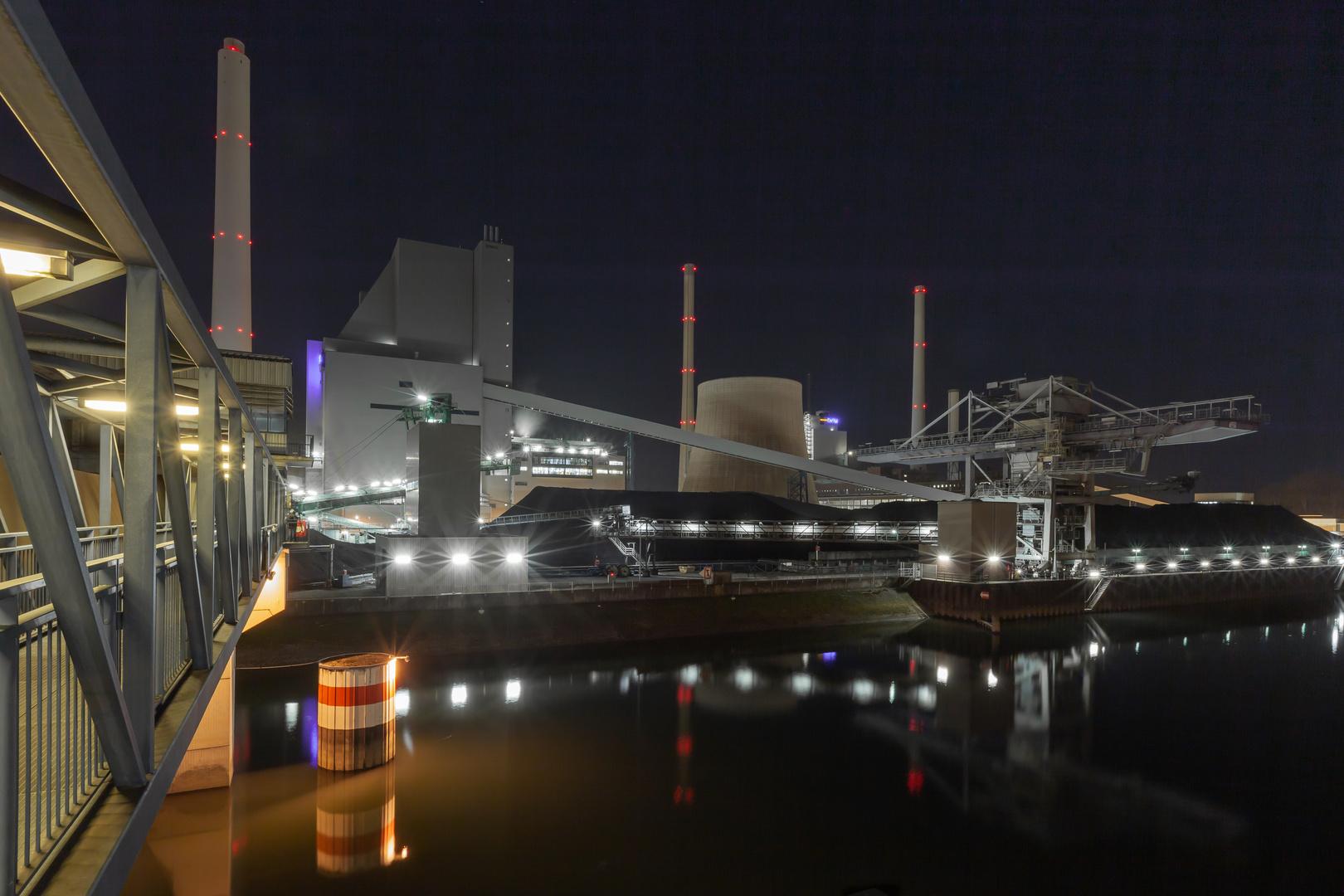 Rheinhafen-Kohlekraftwerk