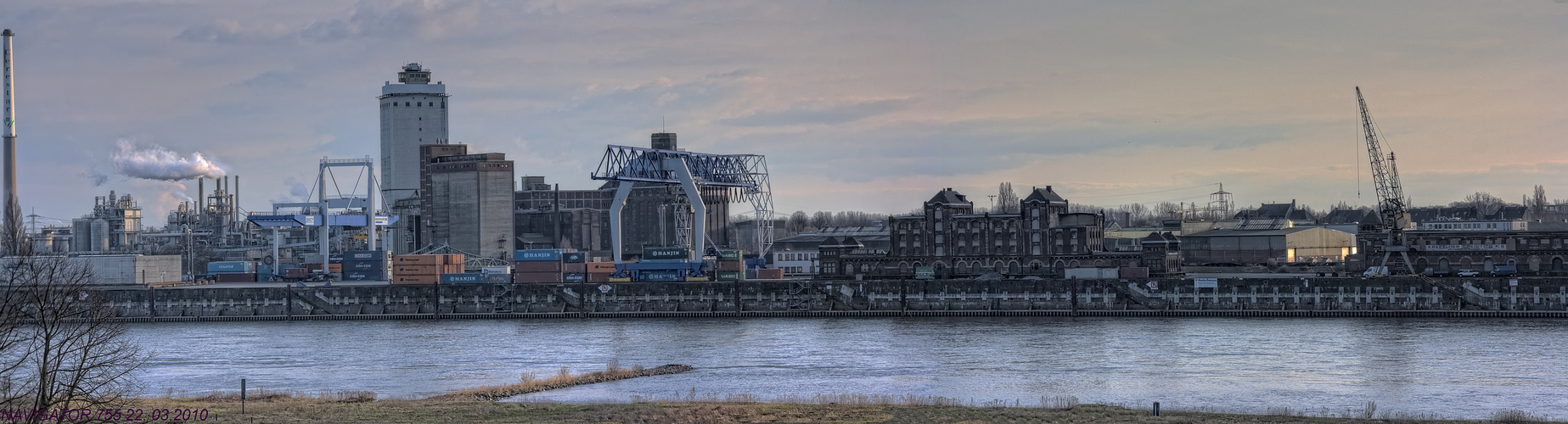 Rheinhafen - Uerdingen III / HDR