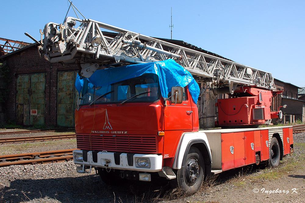 Rheinisches Industriebahn-Museum - Feuerwehrwagen Magirus Deutz