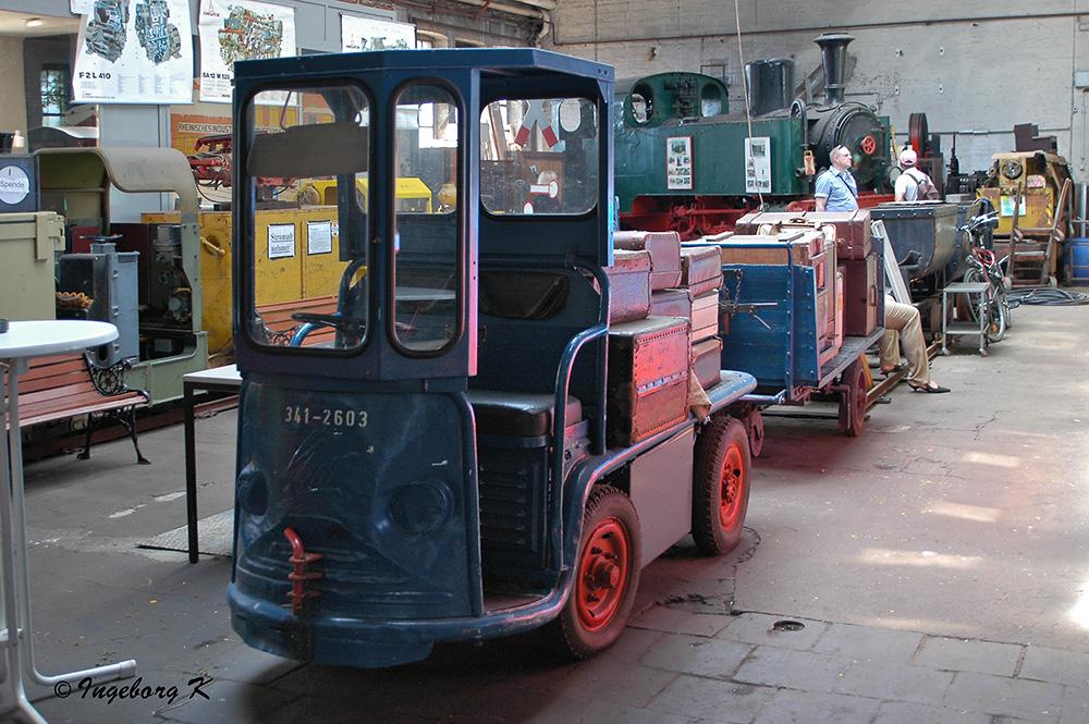 Rheinisches Industriebahn-Museum - Gepäcktransporter