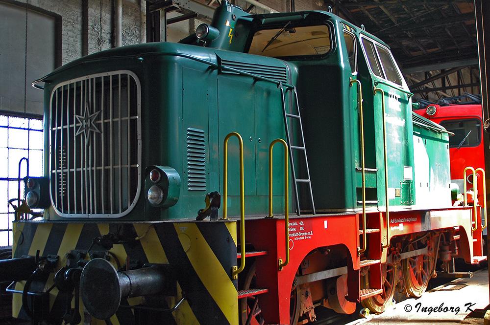 Rheinisches Industriebahn-Museum - Henschel-Lok?