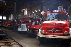 Rheinisches Industriebahn-Museum - Werksfeuerwehrwagen